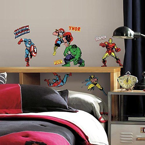 Marvel Character Peel And Stick Wall Decals Only $10.02!
