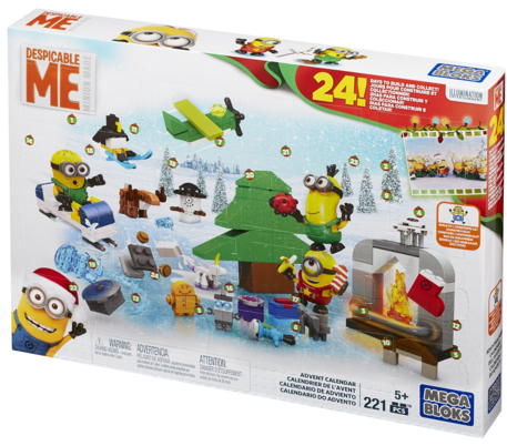 Mega Bloks Minions Movie Advent Calendar Just $10 Down From $30!