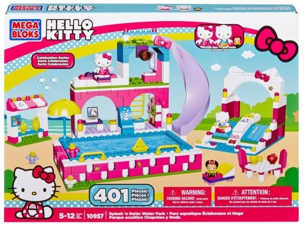 Mega Bloks Hello Kitty Splash N' Swim Water Park Only $14.99! (reg. $30!)