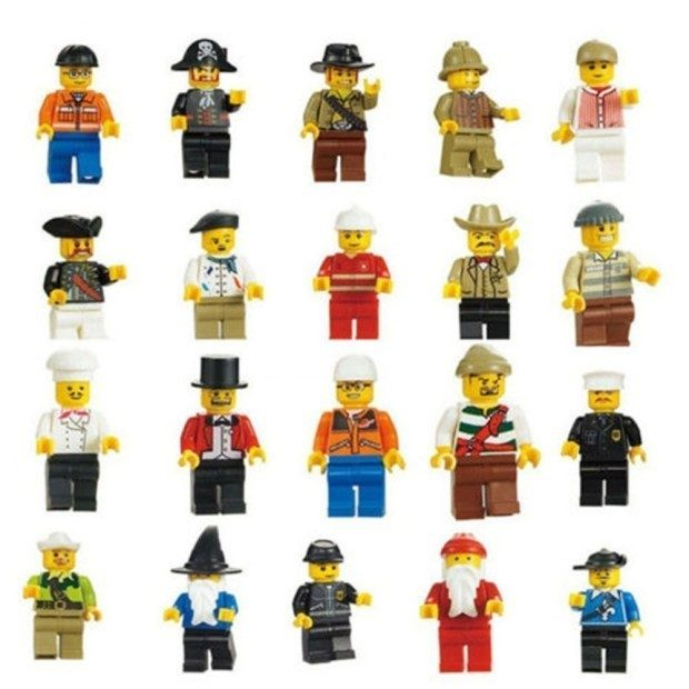 Minifigures Men 20 Piece Set Only $5.80 Plus FREE Shipping!