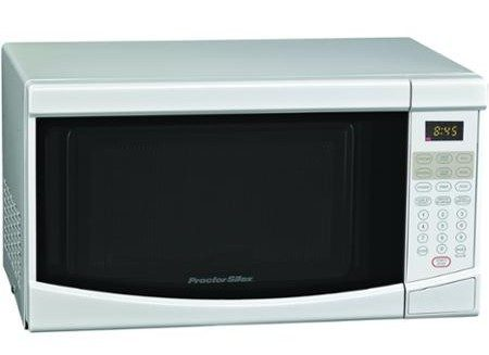 Proctor Silex 0.6 cu ft Microwave Oven Only $29!