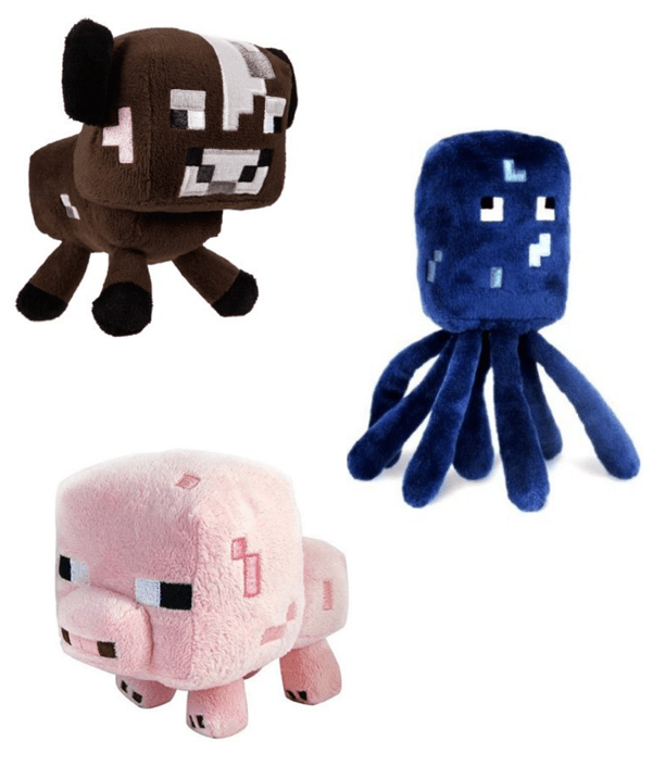Select Minecraft Plush Starting At $4.40!  Most Ship FREE!