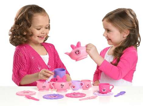 Minnie Mouse Tea Dinnerware Set With Dress Just $12 Down From $30!