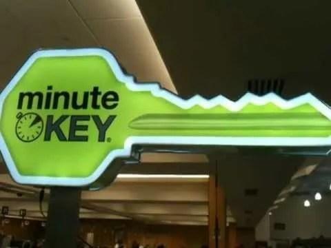 FREE Key At Minute Key Kiosks!