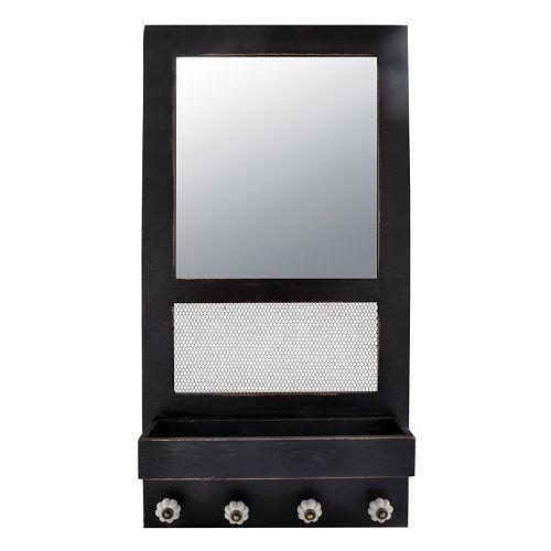 Distressed Jewelry Mirror & Organizer Only $23.99!