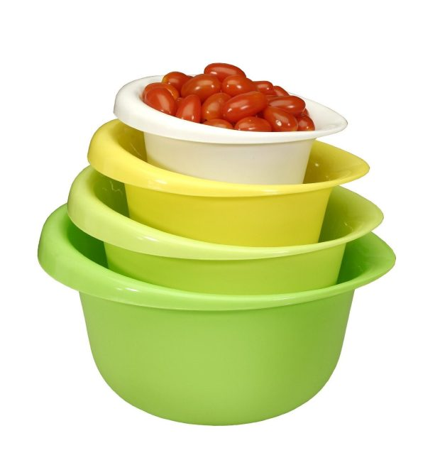 Cook Pro 4 piece Mixing Bowl Set Only $9.06! (reg. $19.99)