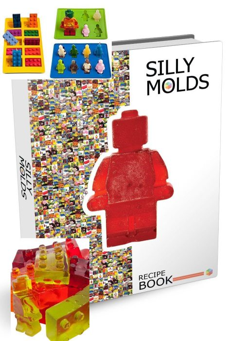 Lego Inspired Ice Cube Trays & Candy Molds 3 Pc Set Only $8.99 (Reg $25)