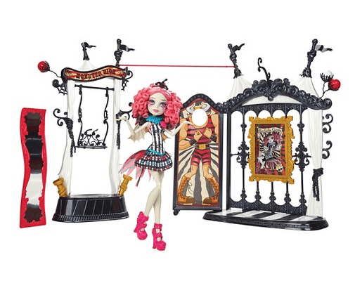 Monster High Freak du Chic Circus Scaregrounds Rochelle Goyle Doll Playset Was $40 Only $20!