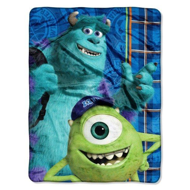 Disney's Monsters University, Greek Geeks Throw Blanket Just $9.90! (Reg. $30)