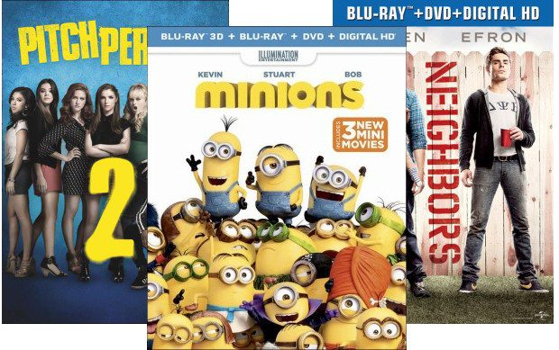Buy 2 Select Movies, Get A 3rd FREE At Best Buy!
