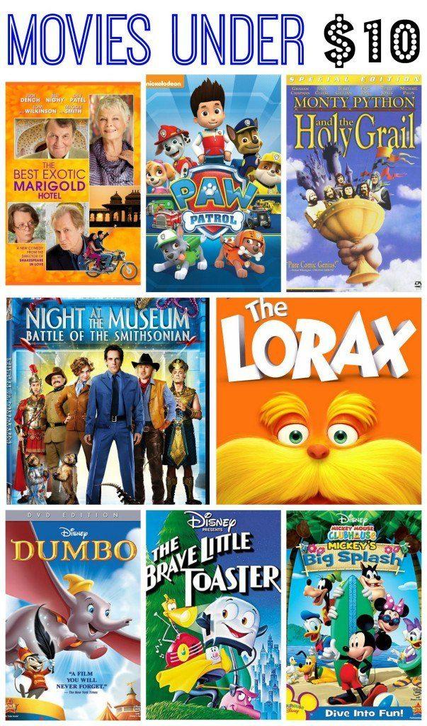 10 Movies Under $10!