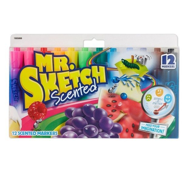 Mr. Sketch Assorted Scent Markers 12ct Just $5!