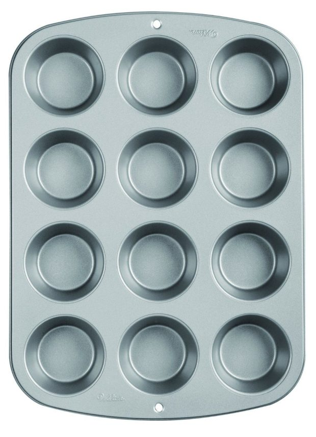 Wilton Recipe Right Nonstick 12-Cup Regular Muffin Pan $6.99!