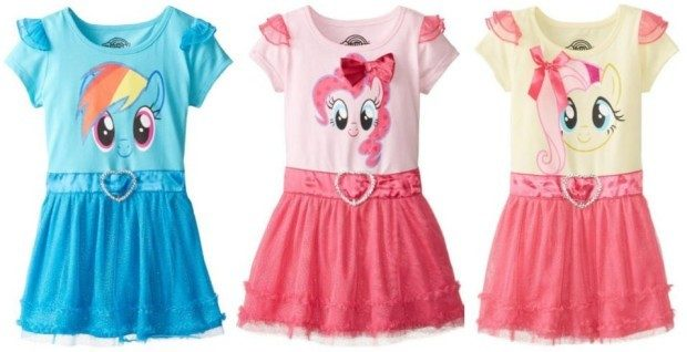 My Little Pony Girls' Dress With Ruffles And Wings As Low As $6.70!  Reg. $32!