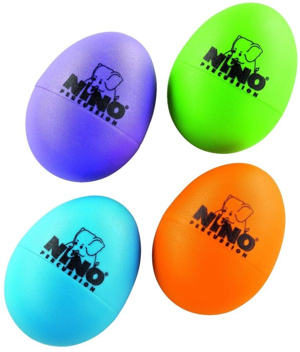 Nino Percussion 4 Pc Plastic Egg Shaker Assortment Only $7.99! Down From $13!