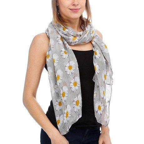 6-Pack: Lightweight Sunflower Scarves Only $26 Shipped!