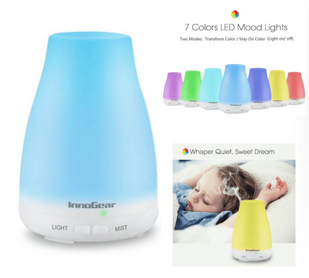 Aromatherapy Color Changing Essential Oil Diffuser Just $19.99! (Reg. $50)