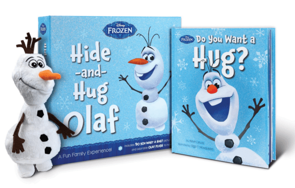 Frozen Hide-And-Hug Olaf: A Fun Family Experience! - Hardcover - Just $18.50 Down From $27!