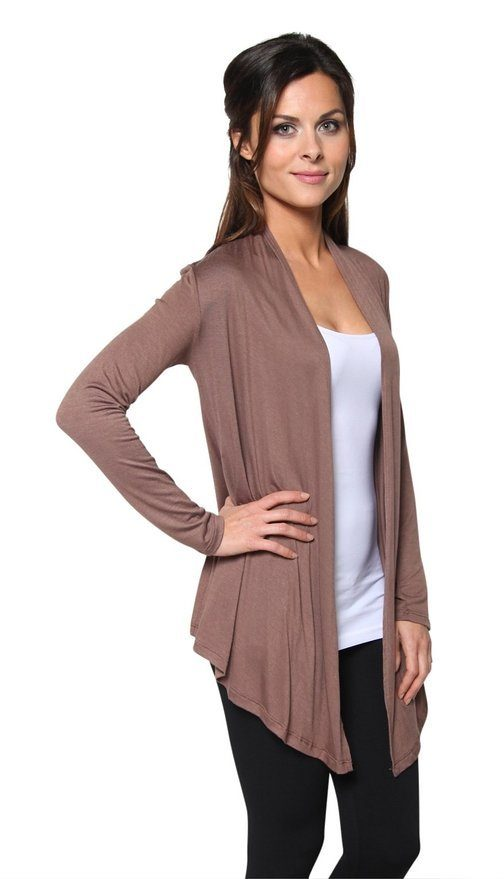 Light Weight Open Front Cardigan Starting At $9.99!