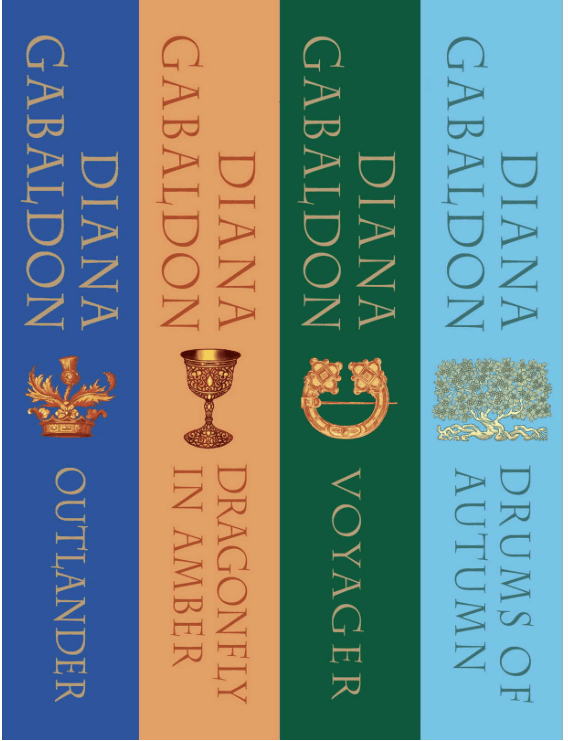 Outlander By Diana Gabaldon - 1st 4 Books In Series As Low As $25.01!
