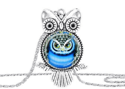 Susenstone Owl Pendant Necklace Just $3.57 Down From $9!