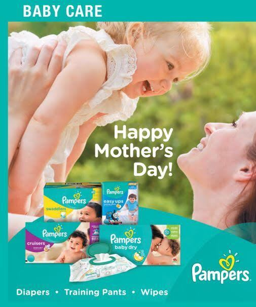 Pampers Helps Moms (& Dads) Save This May!