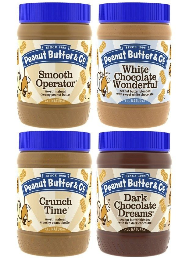 Peanut Butter & Co. Top Seller 4 Pack Only $13.70!