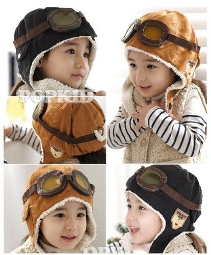 Wool Pilot Style Cap with Ear Flaps Just $3.95 SHIPPED!