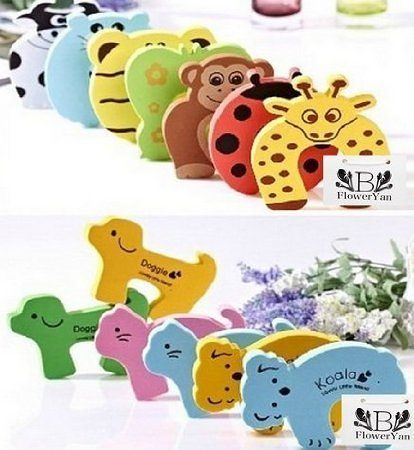 Adorable Set of Door Stop Finger Pinch Guards $1.92 + FREE Shipping!