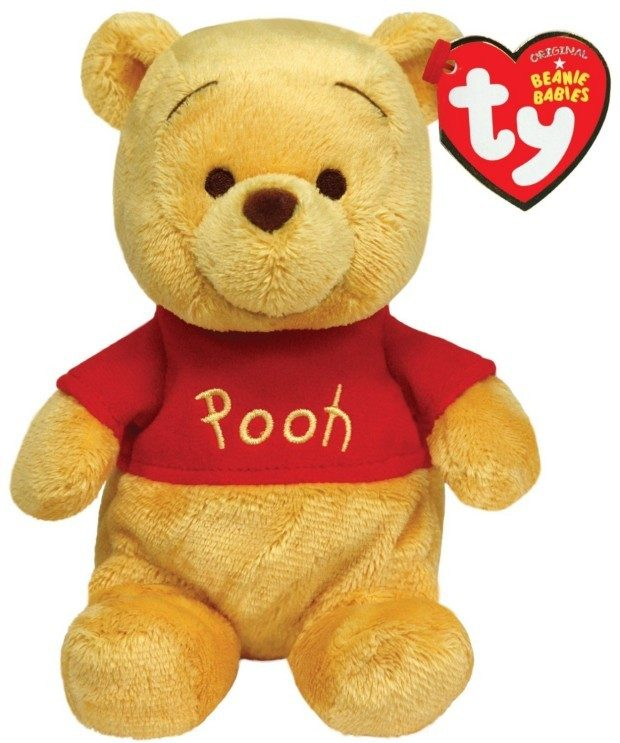 Ty Beanie Buddies Winnie The Pooh Only $8.20 Shipped FREE!