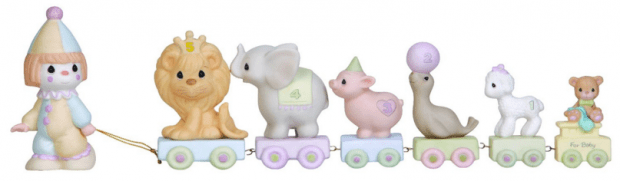 """Precious Moments """"Bless The Days Of Our Youth"""" Birthday Train Figurine Just $21.43! Reg. $30!"""