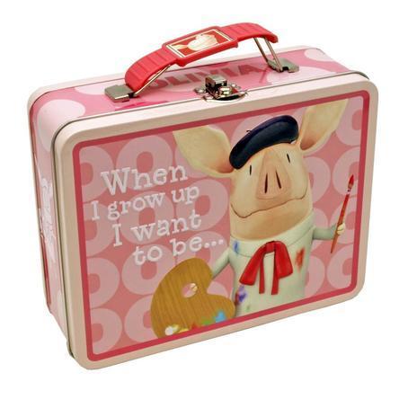 TarrKenn Olivia Tin Lunchbox Just $3.92! Down From $19.08!