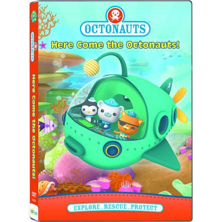 Here Come The Octonauts DVD Just $2.43! Down From $13.97!