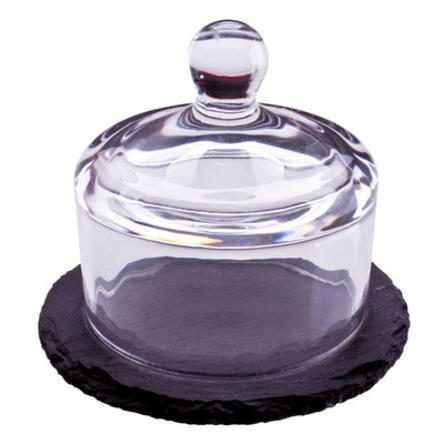 thirstystone Slate Dessert Cake Stand with Dome Just $11.09! Down From $24.99!