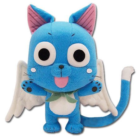 Fairy Tail Plush Fairy Tail Happy 8'' Chibi SD Soft Doll Just $11.94! Down From $24.99!