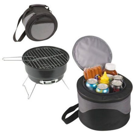 Portable Charcoal Grill with Cooler Just $22.99! Down From $81!