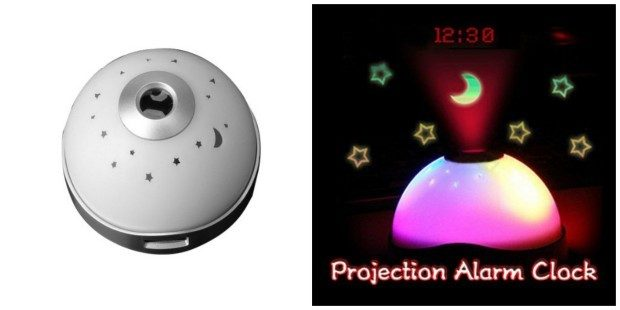 Color Changing LED Magic Starry Digital Projection Alarm Clock Only $4.99 + FREE Shipping!
