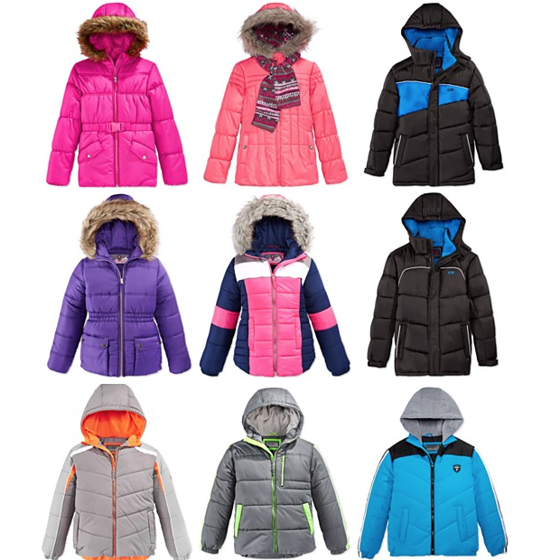 Final Day - Kids Puffer Jackets Just $15.95! Orig. Up To $85!