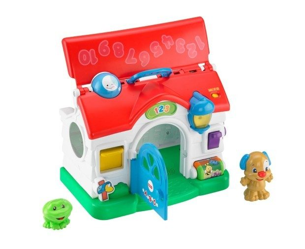 Fisher-Price Laugh & Learn Puppy's Activity Home Only $12.59 Plus FREE Shipping!