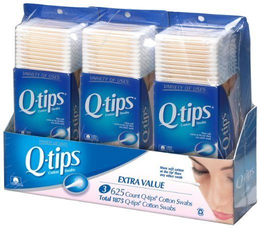Q-tips Cotton Swabs 625 Ct Just $2.51 Shipped FREE!