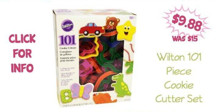 Wilton 101 Piece Cookie Cutter Set Only $9.88! (Was $15)