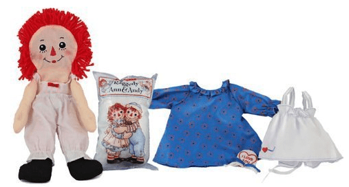 Raggedy Ann Raggedy Andy Craft Doll 'Build Your Own' Doll Just $13 Down From $36!