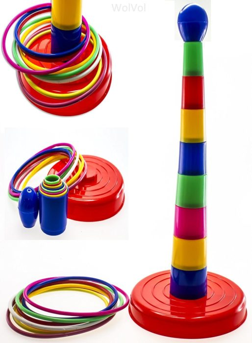 "18"" Colorful Ring Toss Game Set for Kids Only $14.94! (Reg. $30)"