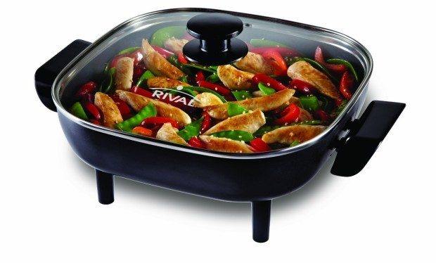 Rival 11-Inch Square Electric Skillet Only $18.96! (Reg. $40)