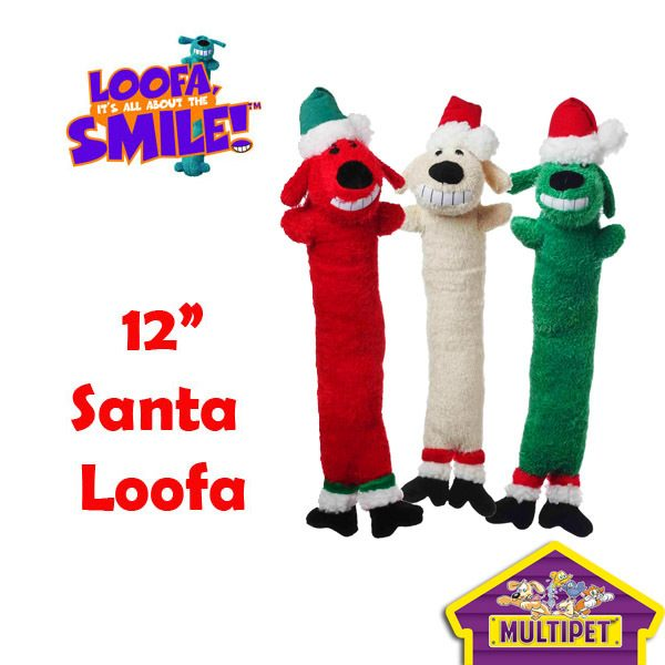 "Multipet 12"" Santa Christmas Loofa Just $5.99! Ships FREE!"