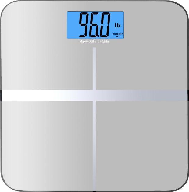 High Accuracy Premium Digital Bathroom Scale Only $14.95! (Reg. $80!)