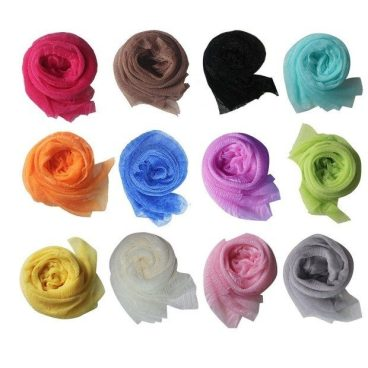 Lightweight Solid Shawl Scarves 12 Pc for Only $10.07 Ships FREE!