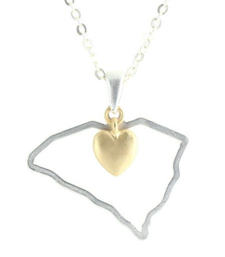 State Pendant Necklace Only $24.95 Plus FREE Shipping!