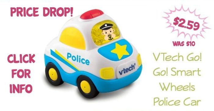 VTech Go! Go! Smart Wheels Police Car Just $2.59! (Was $10)