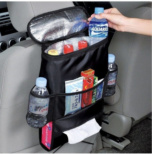 Car Seat-Back Organizer With Cooler Just $9.95! (Reg. $26)